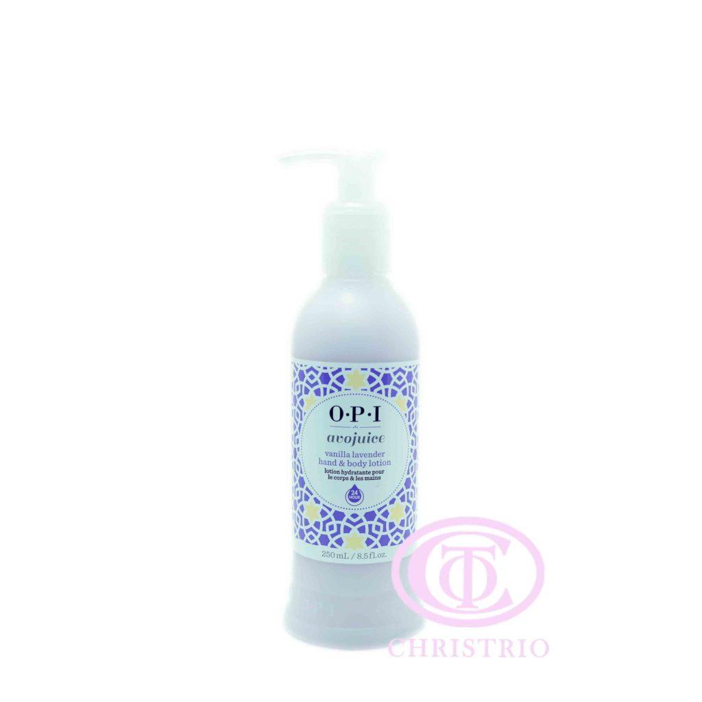 OPI Avojuice Lotion – Krém na ruce (Vannilla Lavender 240ml)
