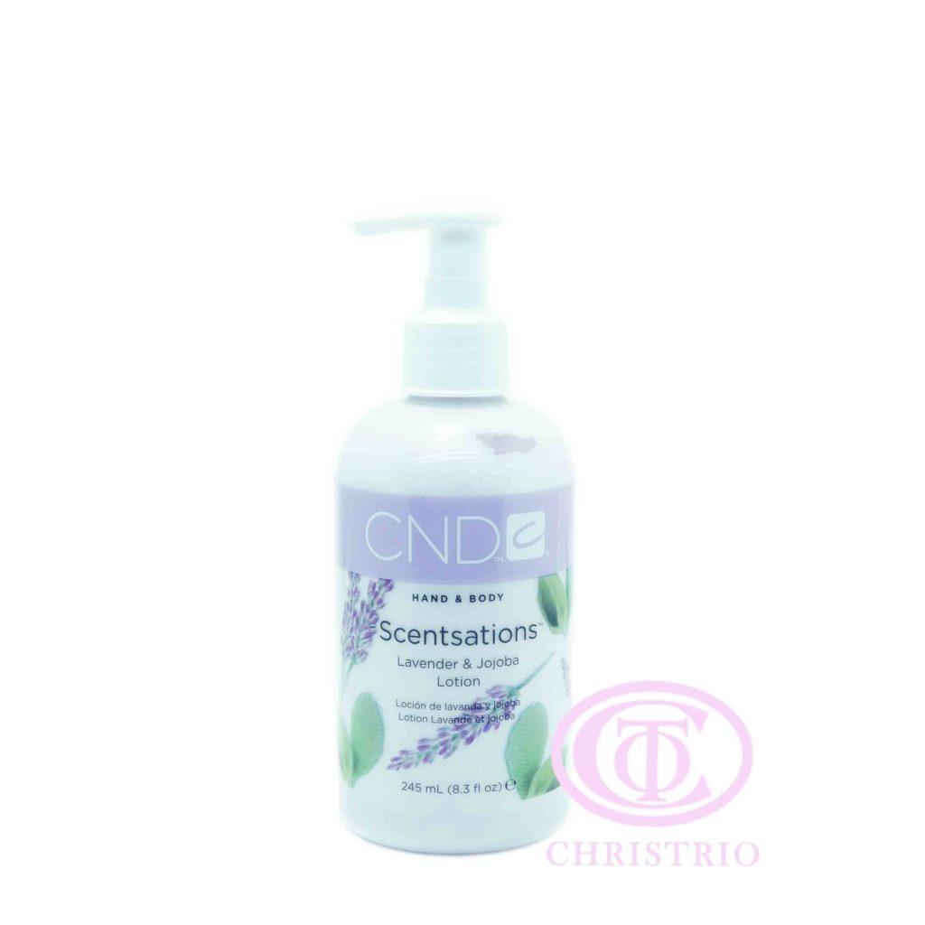 CND Hand & Body Scentsations – Vyživující krém na ruce (Lavender & Jojoba 245ml)