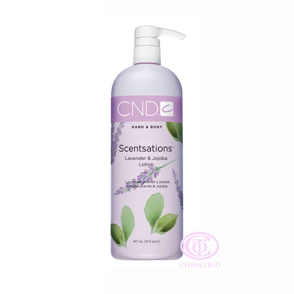 CND Hand & Body Scentsations – Vyživující krém na ruce (Lavender & Jojoba 917ml)