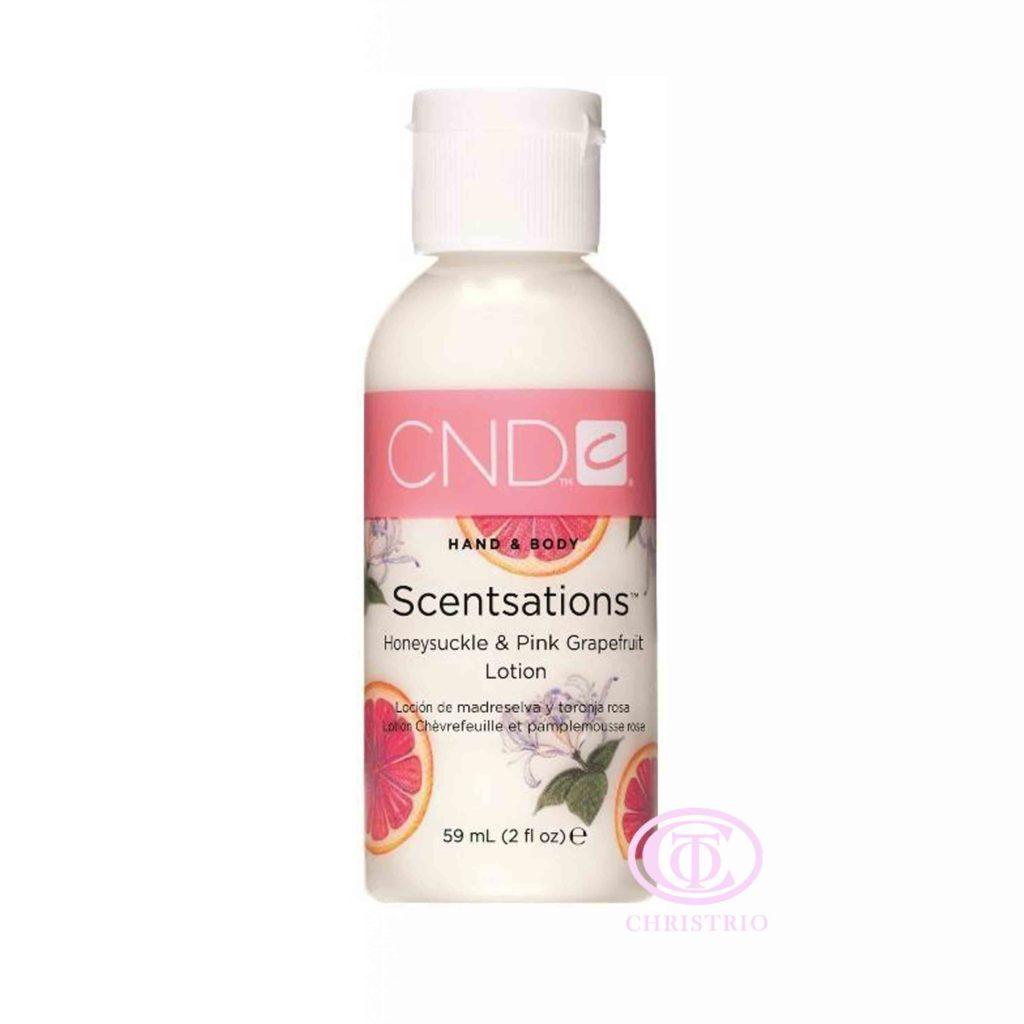 CND Hand & Body Scentsations – Vyživující krém na ruce (Honeysuckle & Pink Grapefruit 59ml)
