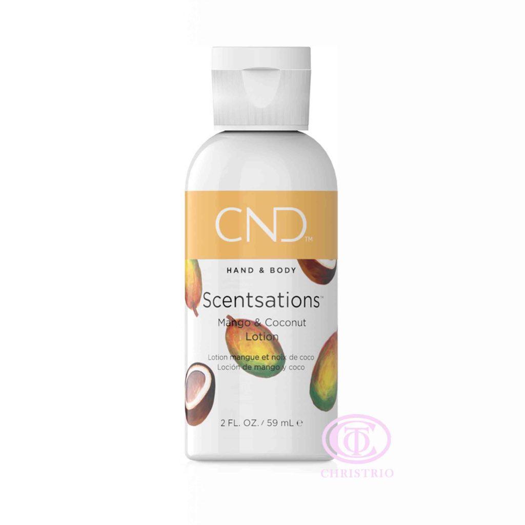 CND Hand & Body Scentsations – Vyživující krém na ruce (Mango & Coconut 59ml)otion