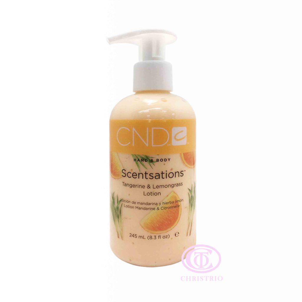 CND Hand & Body Scentsations – Vyživující krém na ruce (Tangerine & Lemongrass 245ml)