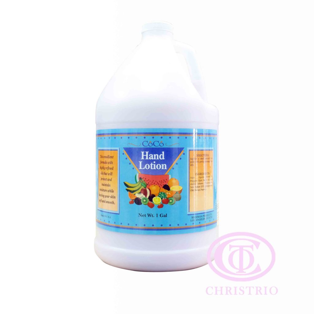 RICHMAN Coco hand lotion – Krém na ruce (1gal/3,79l)