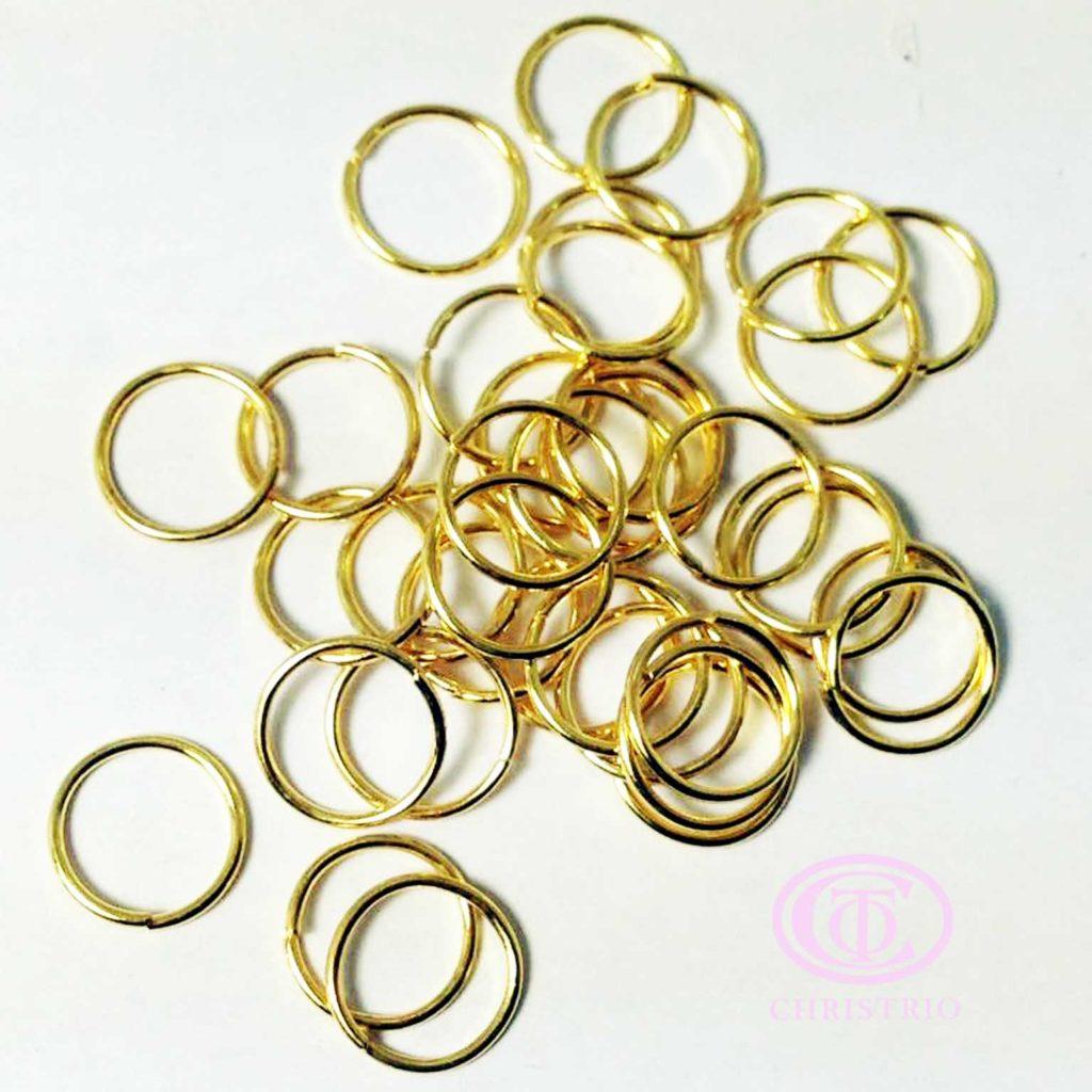 CTO Nail art charm (5g-Gold ring)