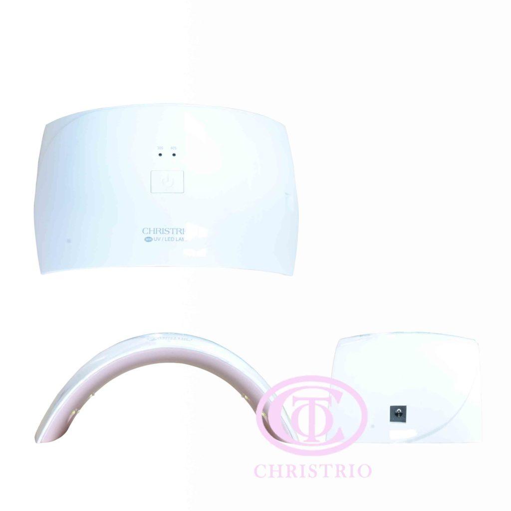 CTO UV Nail Lamp 36W Pink