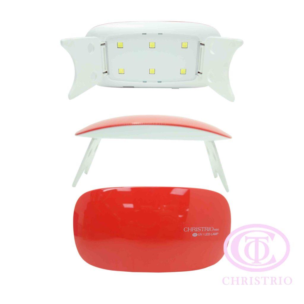 Mini LED UV Nail lamp 6W – white,red,violet,blue,green