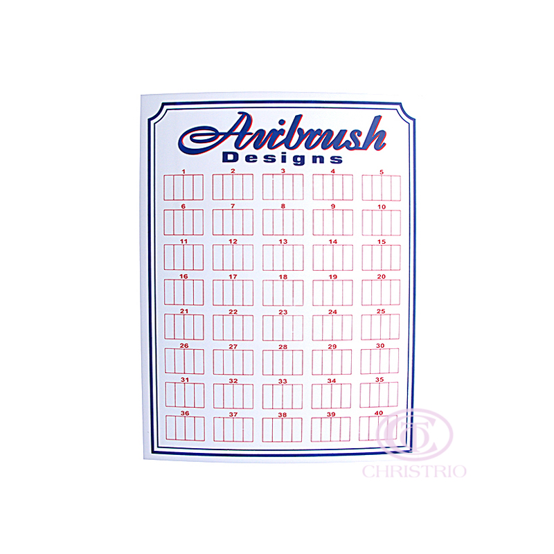 Aibrush designs display L - white