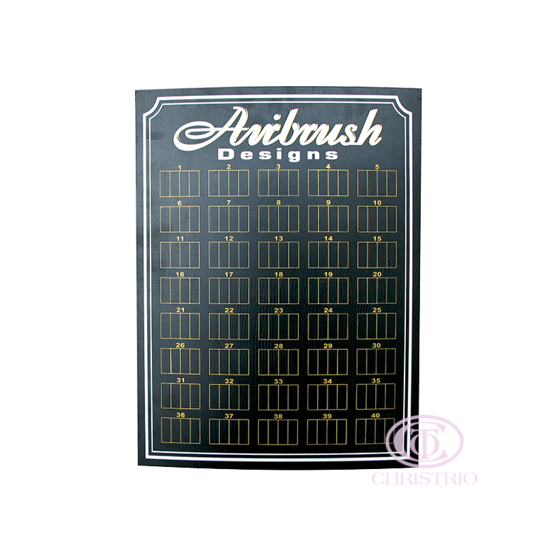 Aibrush designs display S, L- black