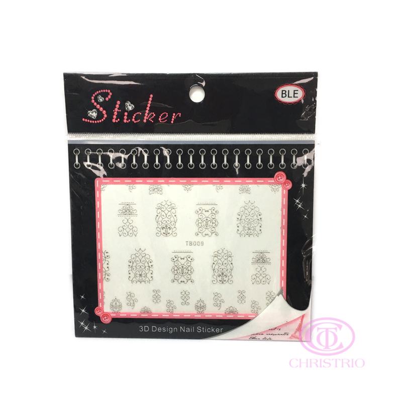 BLE Nail 3D Sticker 5