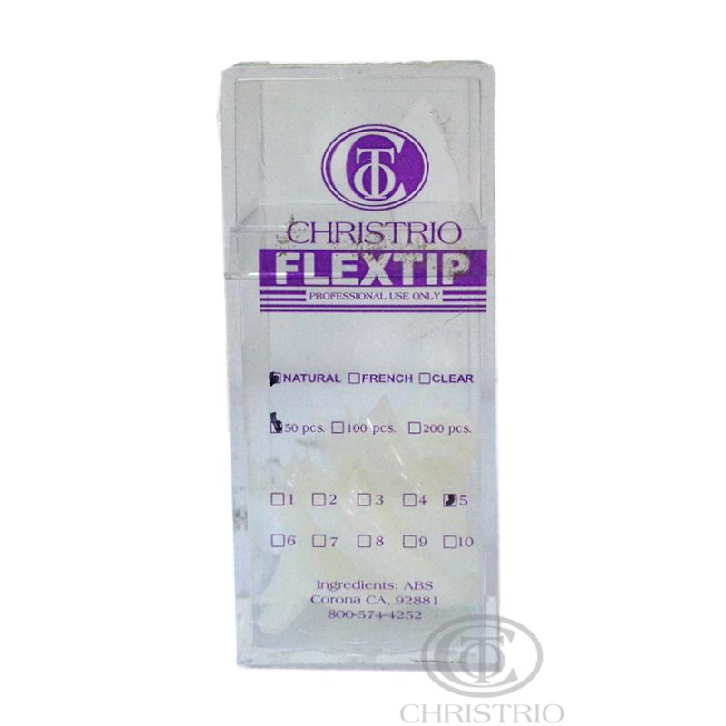 CHRISTRIO Flextip 100pcs M natural