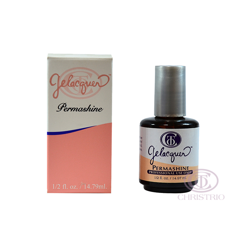 CHRISTRIO Gelacquer permashine 0,5oz 15ml - orange