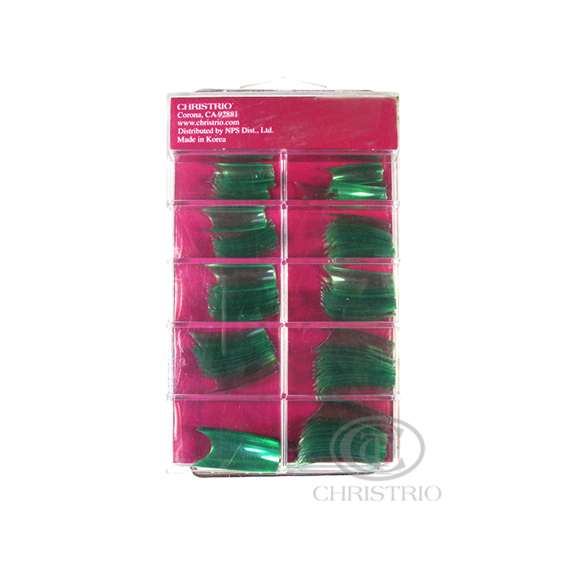 CHRISTRIO Green Tips 100pcs