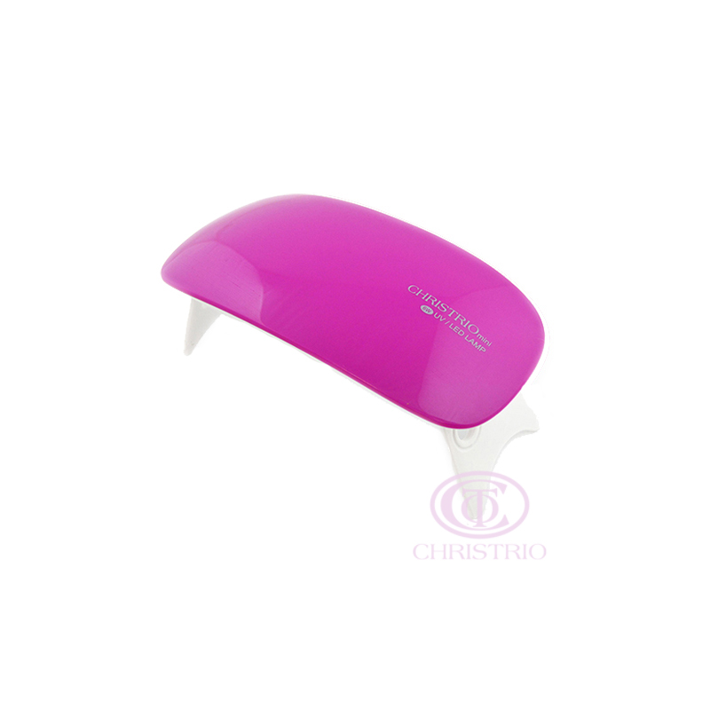 CHRISTRIO Mini LED UV Nail lamp 6W Pure