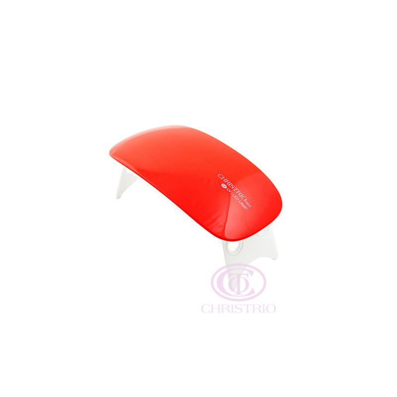 CHRISTRIO Mini LED UV Nail lamp 6W Red