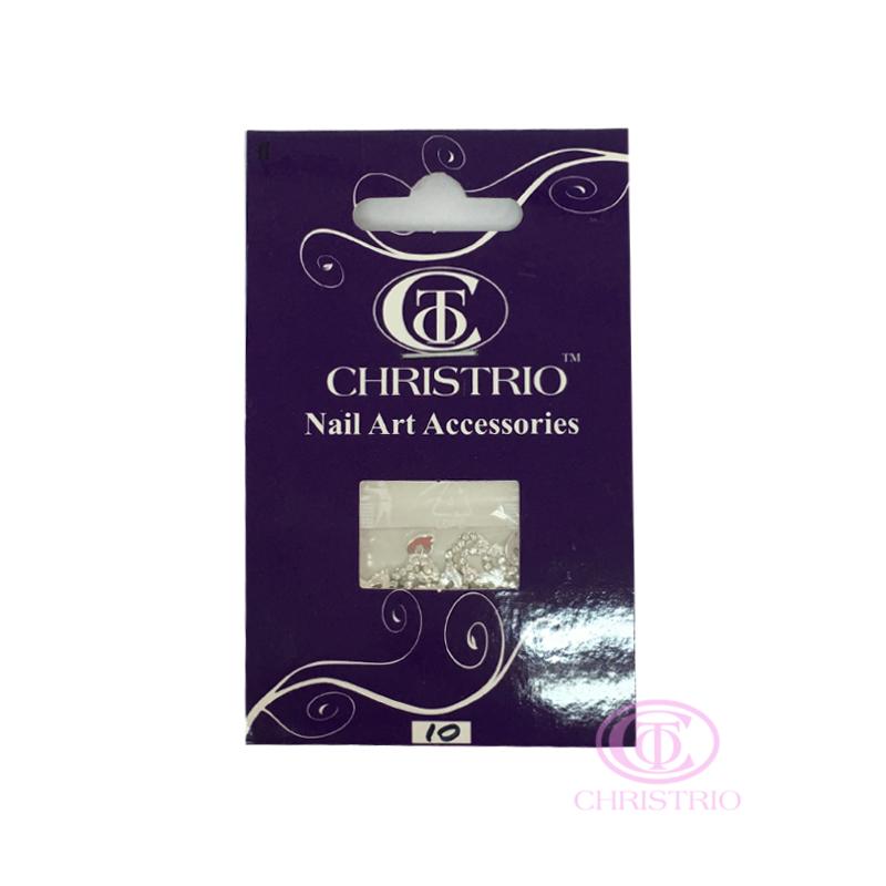 CHRISTRIO Nail art charm 10pcsbag 2