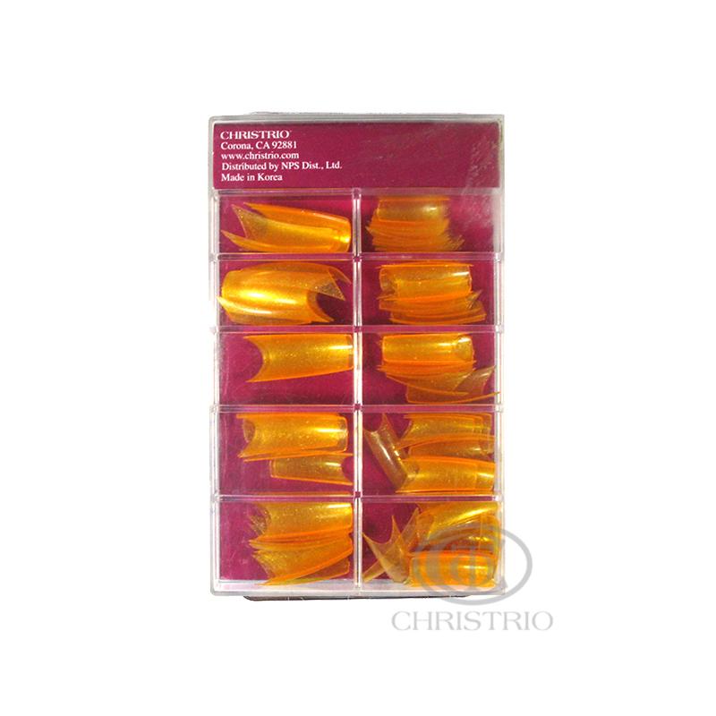 CHRISTRIO Orange Tips 100pcs