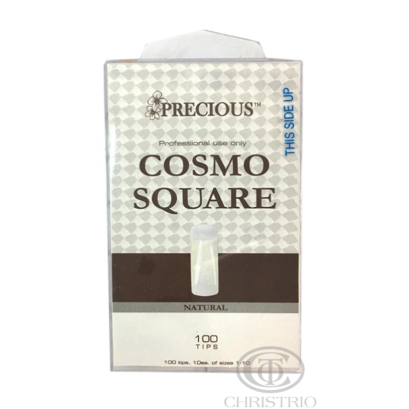 CHRISTRIO Precious Cosmo square natural tips box 100pcs