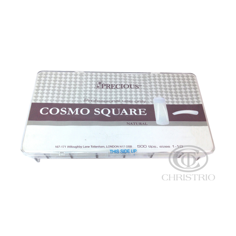 CHRISTRIO Precious Cosmo square natural tips box 500pcs