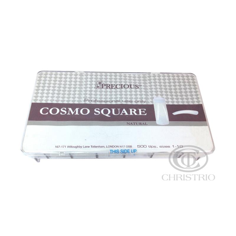 CHRISTRIO Precious Cosmo square natural tips box 500pcs
