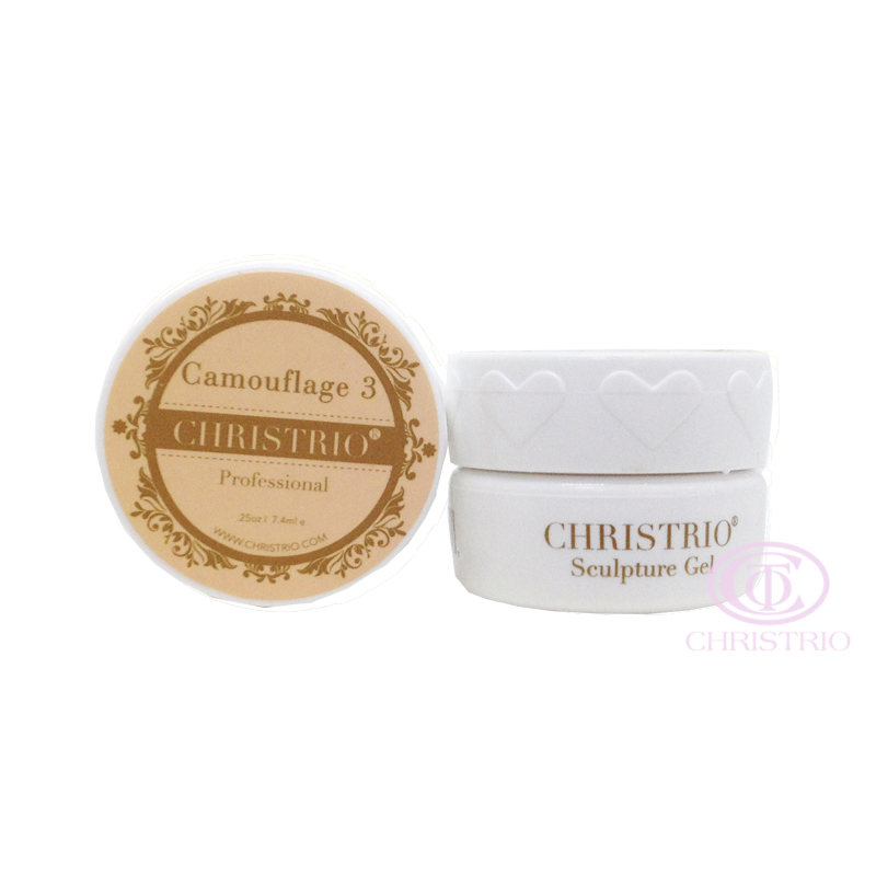CHRISTRIO Sculpture Gel 0,25oz-7,4ml-Camouflage 3