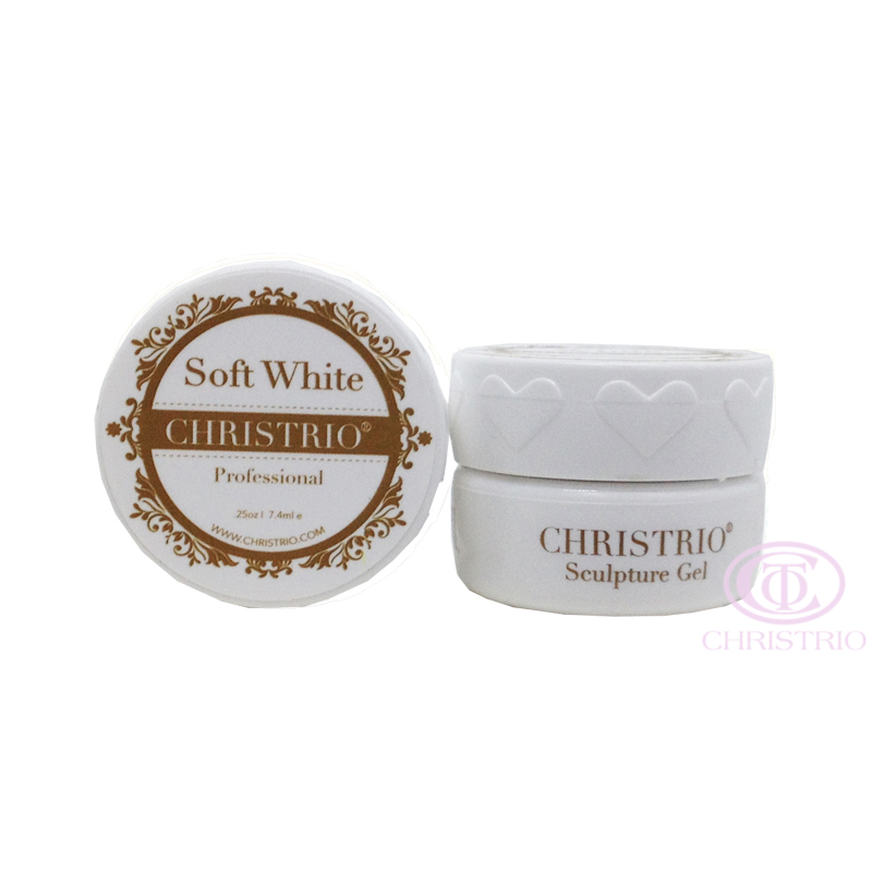 CHRISTRIO Sculpture Gel 0,25oz-7,4ml-Soft White