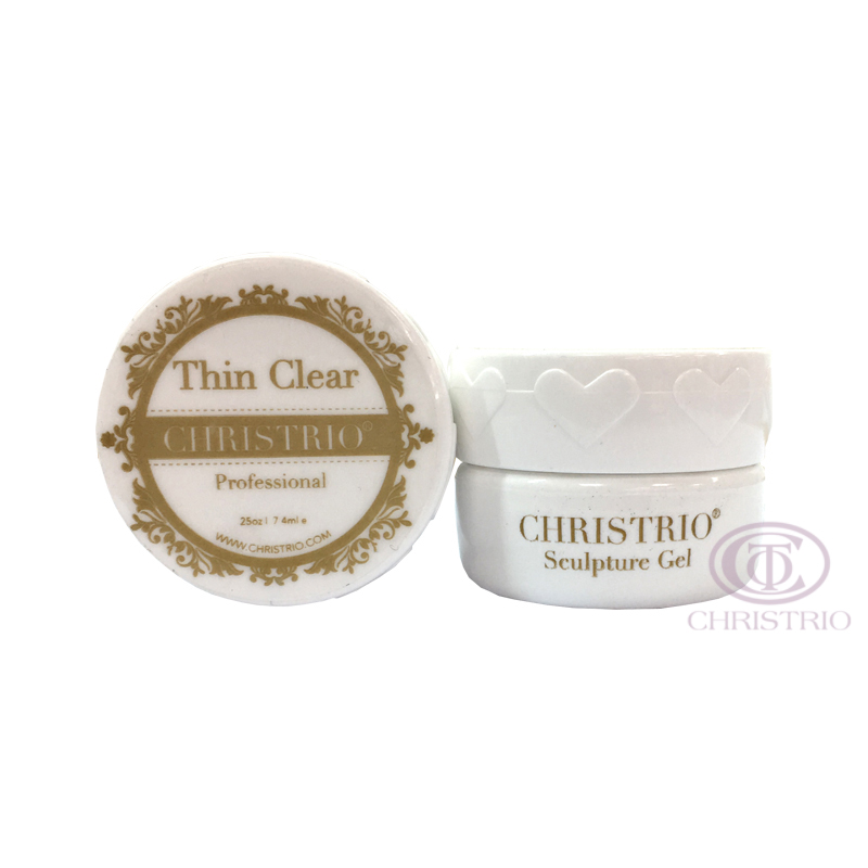 CHRISTRIO Sculpture Gel 0,25oz-7,4ml-Thin Clear