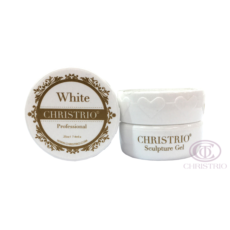 CHRISTRIO Sculpture Gel 0,25oz-7,4ml-White