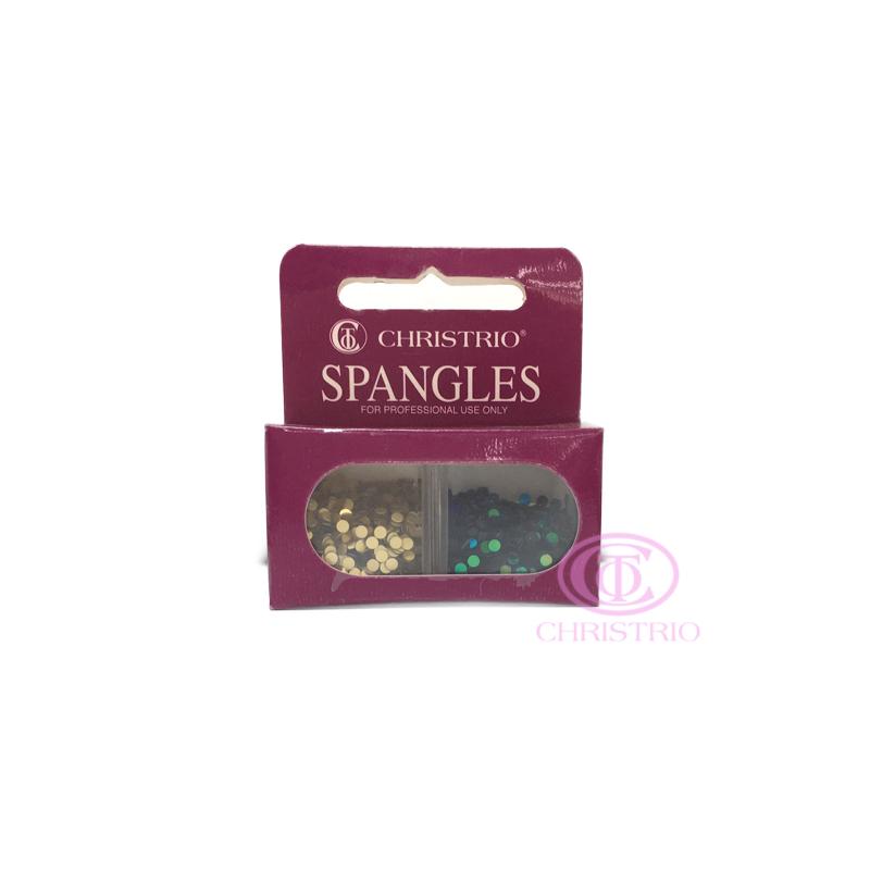 CHRISTRIO Spangles Professional Nail Rhinestones 1