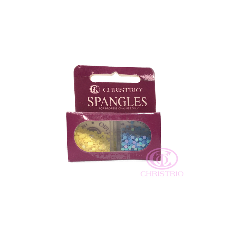 CHRISTRIO Spangles Professional Nail Rhinestones 3