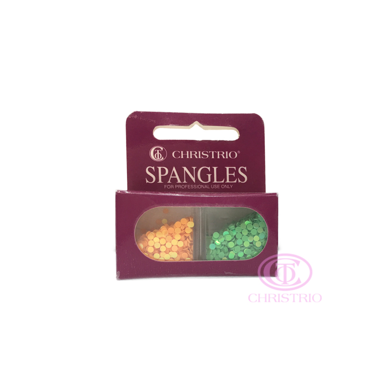 CHRISTRIO Spangles Professional Nail Rhinestones 5
