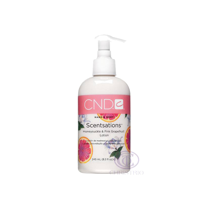 CND Scentsations 8.3oz 245ml Honeysuckle & Pink Grapefruit Lotion