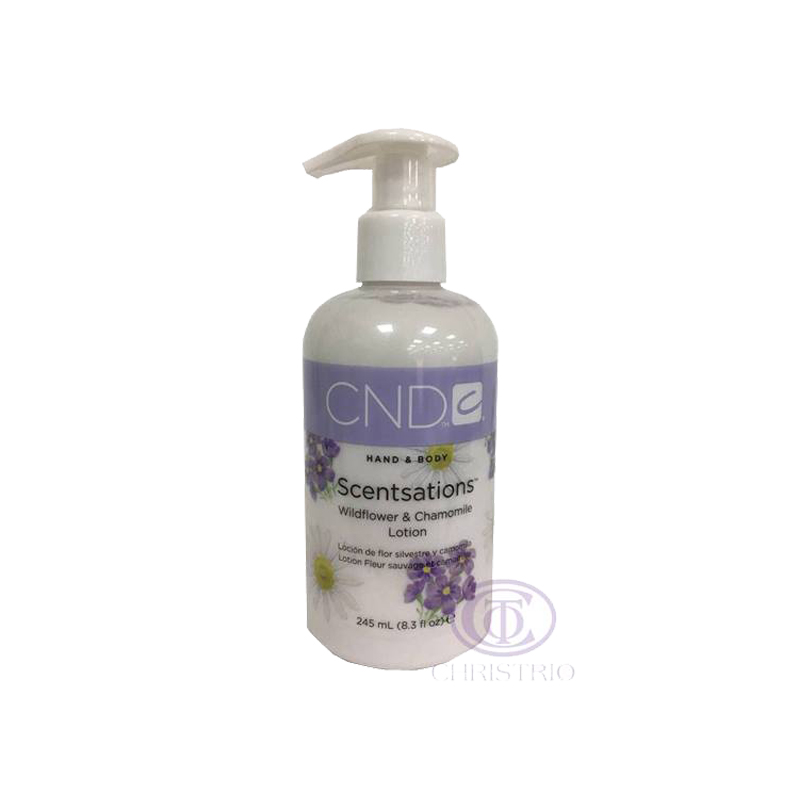 CND Scentsations Lotion 8,3oz-245ml-Wildflower & Chamoline
