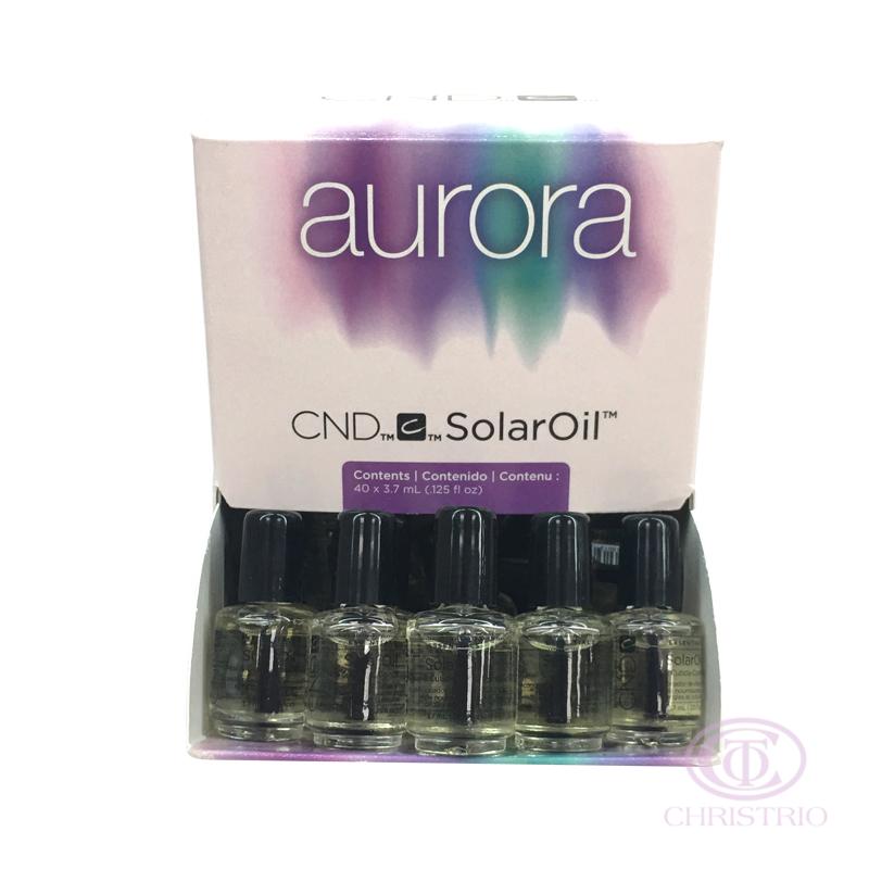 CND Solar Oil 40 x 0,125oz-3