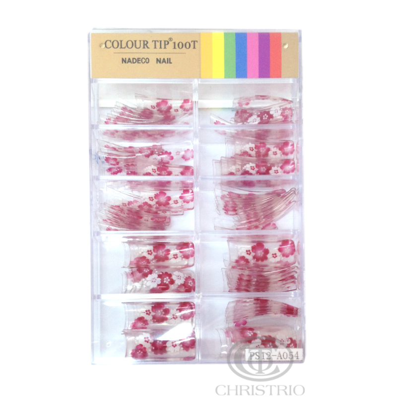 COLOUR TIP 100T Nadeco Nail PS12-A054