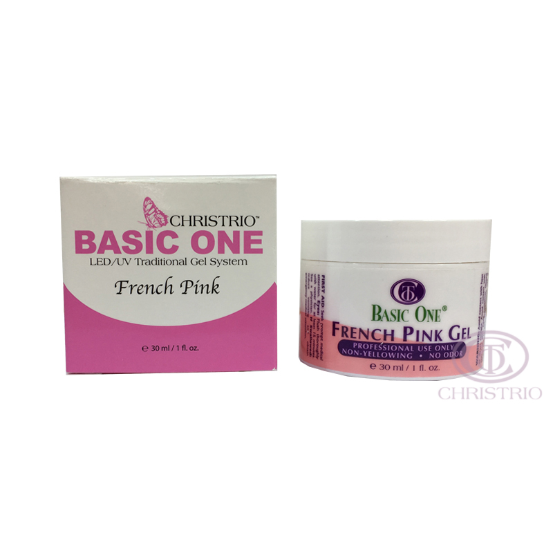 Christrio Basic One French Pink Gel 1oz-30ml