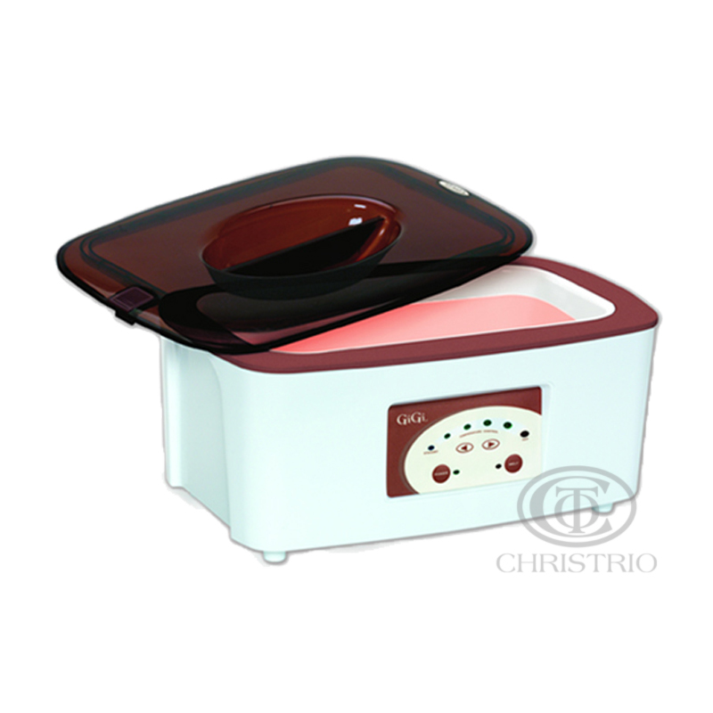 Clean+Easy Digital Paraffin Wax Spa Heater Brown
