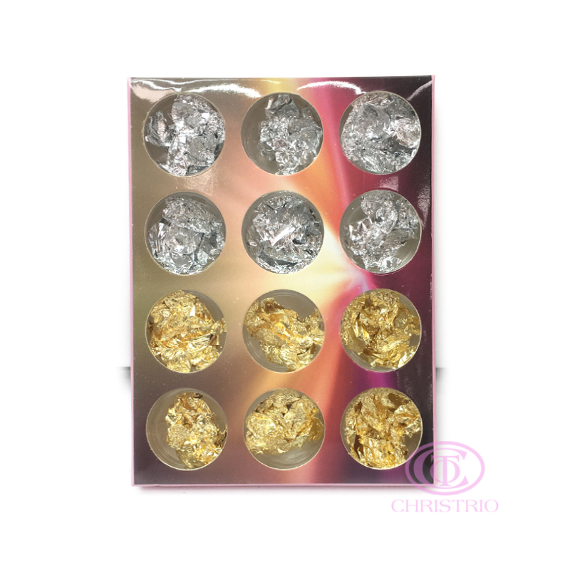Colourful carving pattern powder 12pcsbox 1