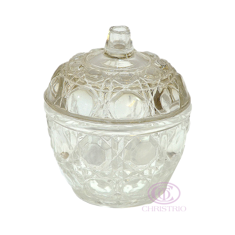 Empty Powder Jar Gemstone