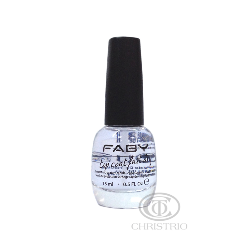 Faby top coat fast dry 15ml