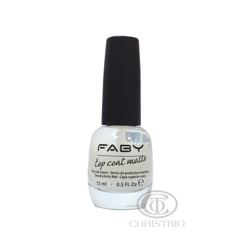Faby top coat matte