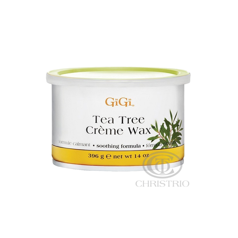 GIGI Wax 14oz-396g tea tree