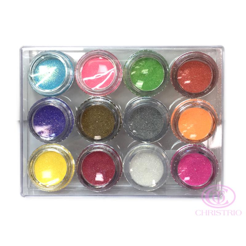 Glitters box 12pcs 2
