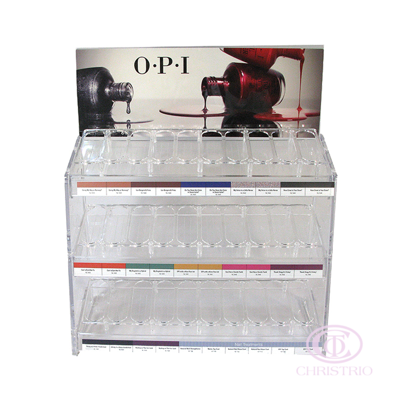 IBD Display Stand 10x3 rows (90botlles)