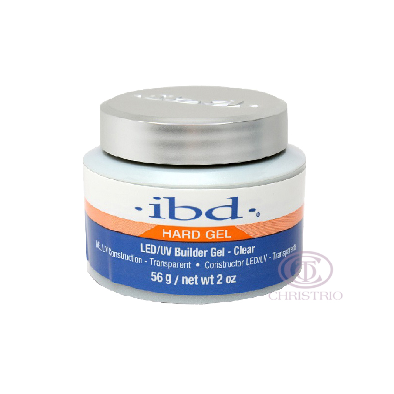 IBD LED-UV Builder Gel 2oz-56g-Clear