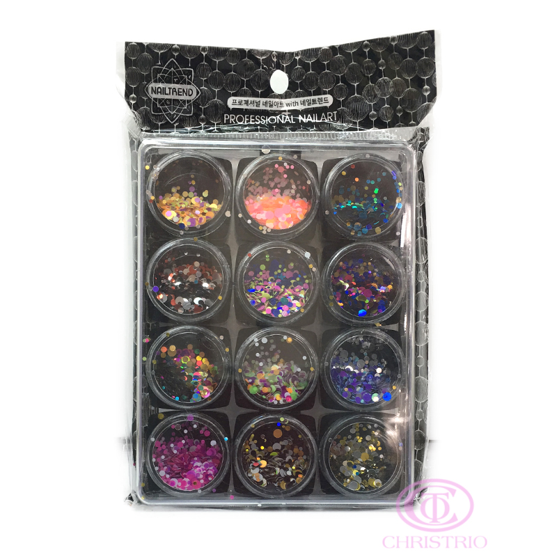 NAILTREND Glitters 12pcs-box 2