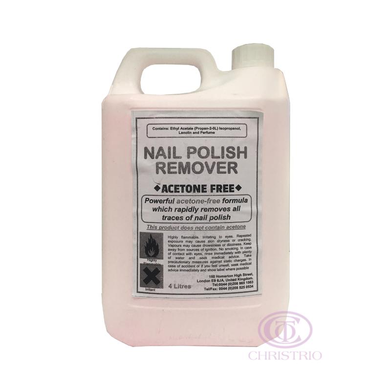 Nai Polish Remover Acetone Free 4L