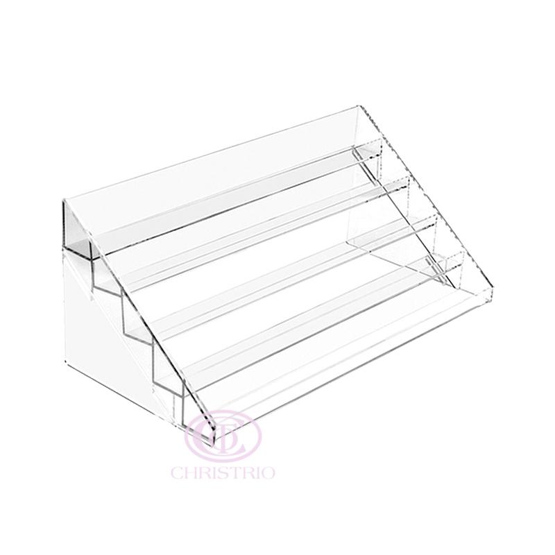 Nail polish counter display S, M 5 steps