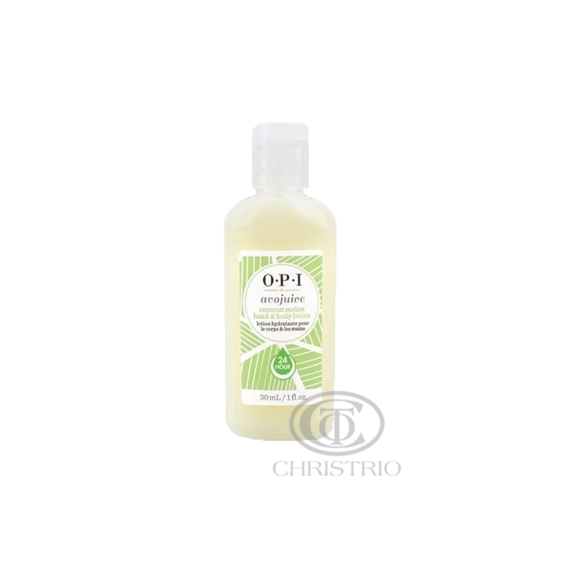 OPI Avojuice Hydrating Skin Quenchers - Coconut Melon Juicie Hand & Body Lotion 30ml