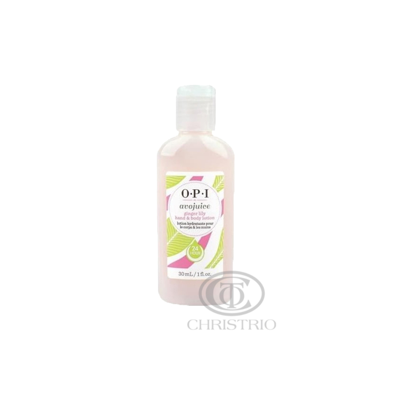 OPI Avojuice Hydrating Skin Quenchers - Ginger Lily Juicie Hand & Body Lotion 30ml