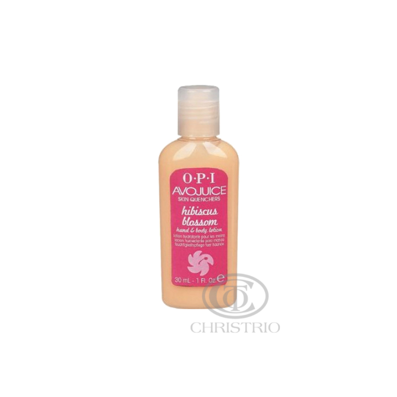 OPI Avojuice Hydrating Skin Quenchers - Hibiscus Hand & Body Lotion 30ml
